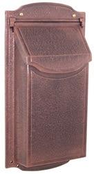 Special Lite Contemporary Vertical Mailbox Copper