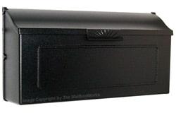 Special Lite Horizon Mailbox Black