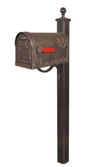 Special Lite Hummingbird Mailbox with Main Street Post Product Image