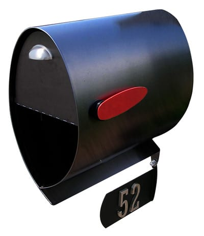Spira Stainless Steel Post Mount Mailbox Product Image