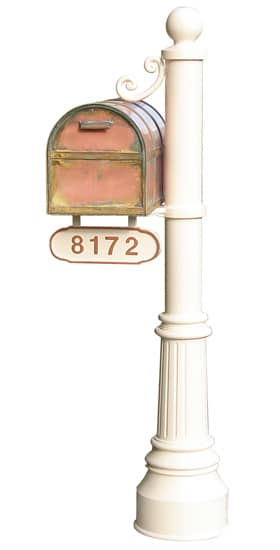 Streetscape Oxford Mailbox with Newport Post Product Image