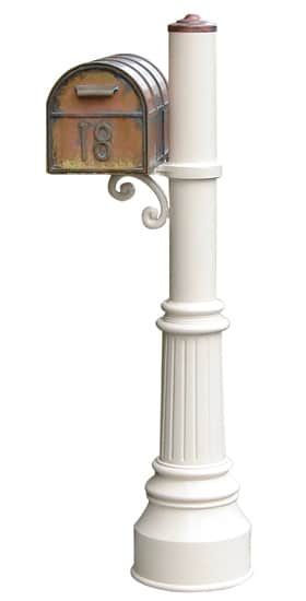 Streetscape Westchester Mailbox with Capistrano Post Product Image