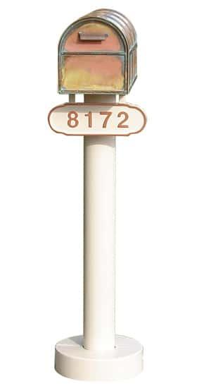 Westchester Locking Mailbox And Basic Post Product Image