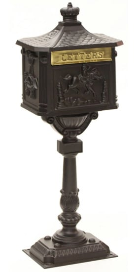 Amco Victorian Pedestal Mailbox Product Image