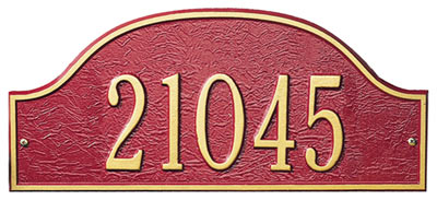 Whitehall Petite Admiral Entryway Plaque Product Image
