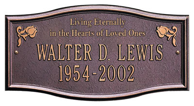 Whitehall Alexandria Living Eternally Memorial Plaque Product Image