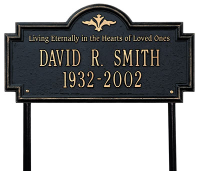 Whitehall Arlington Living Eternally Memorial Lawn Plaque Product Image