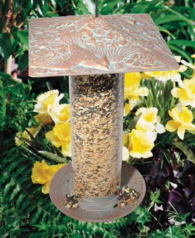 Whitehall Cardinal Tube Bird Feeder Product Image