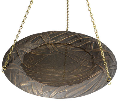 Whitehall Dragonfly Hanging Bird Bath Product Image