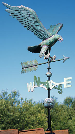 Whitehall Copper Eagle Classic Weathervane
