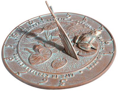 Whitehall Frog Sundial Product Image