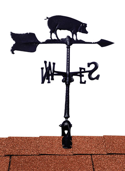 Whitehall 24 Inch Hog Accent Weathervane Product Image