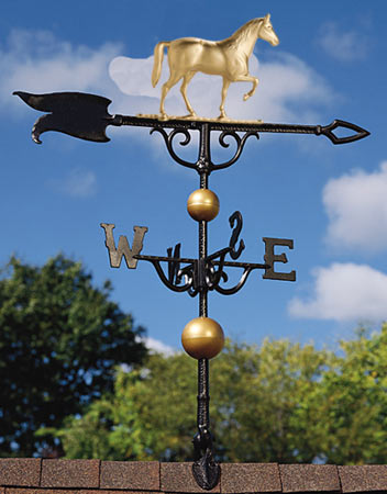 Whitehall 30 Inch Horse Traditional Weathervane
