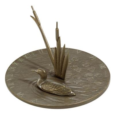 Whitehall Loon Sundial Birdbath Product Image