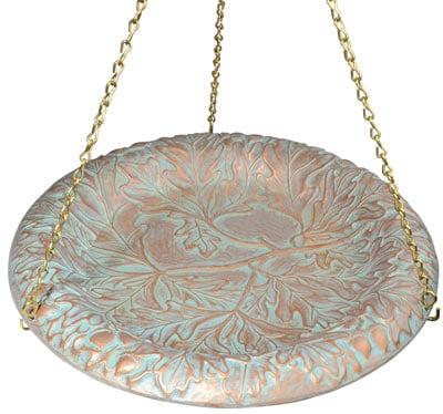 Whitehall Oakleaf Hanging Bird Bath Product Image