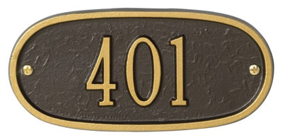 Whitehall Petite Oval Entryway Plaque Product Image