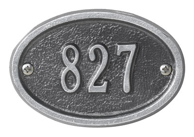 Whitehall Ultra Petite Oval Entryway Plaque Product Image