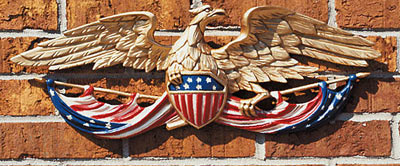 Whitehall Patriotic Wall Eagle Product Image
