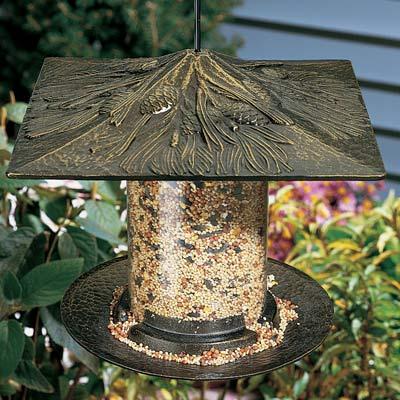 Whitehall Pinecone Tube Bird Feeder Product Image
