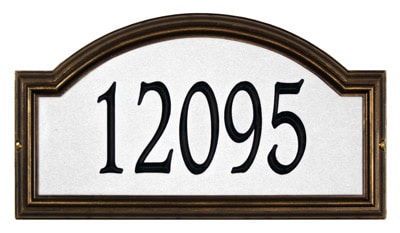 Whitehall Providence Arch Reflective Standard Plaque
