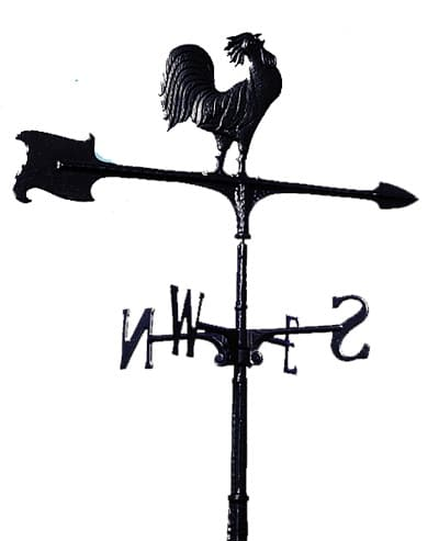 Whitehall Rooster Accent Weathervane Product Image
