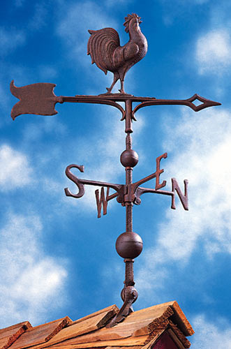 Whitehall 30 Inch Rooster Traditional Weathervane Product Image