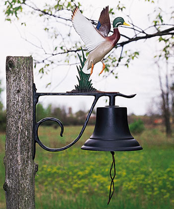 Whitehall Large Country Bell With Topper