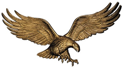 Whitehall 29 Inch Wall Eagle Product Image