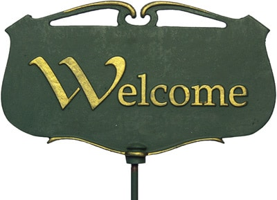 Whitehall Welcome Poem Sign Product Image