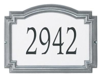Whitehall Williamsburg Reflective Standard Address Plaque
