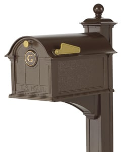 Whitehall Balmoral Mailbox Deluxe Post