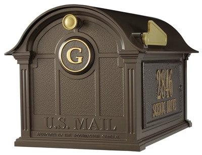 Whitehall Balmoral Mailbox for Sale Post Mount Product Image