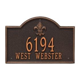 Bayou Vista Plaque Oil Rubbed Bronze