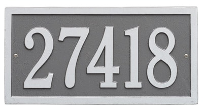 Whitehall Bismark Rectangle Address Plaques Product Image