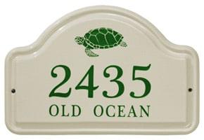 Whitehall Turtle Arch Plaque Green