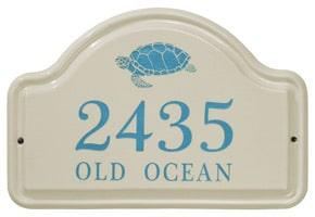 Whitehall Turtle Arch Plaque Sea Blue