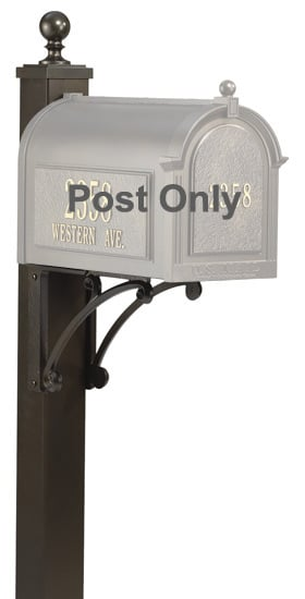 Whitehall Deluxe Mailbox Post Product Image