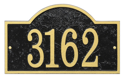 Whitehall Fast And Easy Arch Address Plaques Product Image