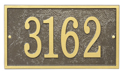 Whitehall Fast And Easy Rectangle Address Plaques Product Image