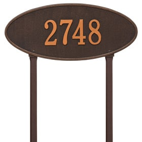 Madison Oval Lawn Oil Rubbed Bronze