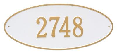 Whitehall Madison Oval Address Plaque
