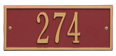 Whitehall Mini Hartford Entryway Plaque Product Image