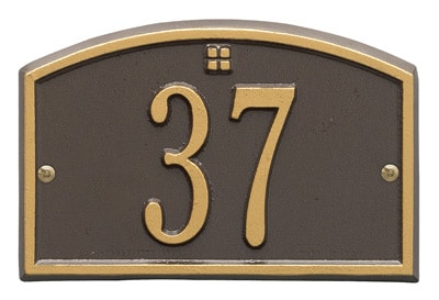 Whitehall Petite Cape Charles Entryway Plaque Product Image