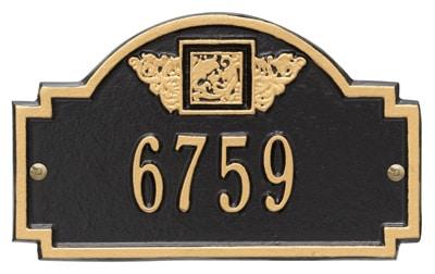 Whitehall Petite Monogram Entryway Plaque