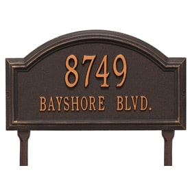 Whitehall Providence Arch Lawn Antique Copper