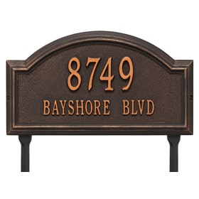 Providence Arch Lawn Oil Rubbed Bronze
