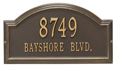 Whitehall Providence Arch Address Plaque Product Image