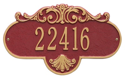 Whitehall Rochelle Address Plaque Product Image