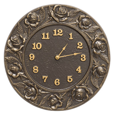 Whitehall Rose Clock Product Image