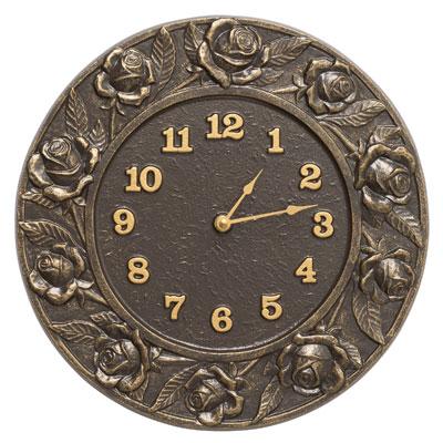 Whitehall Rose Clock